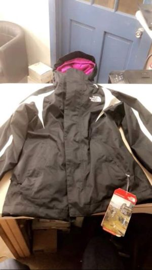 Brand new north face 7-8 with fleece