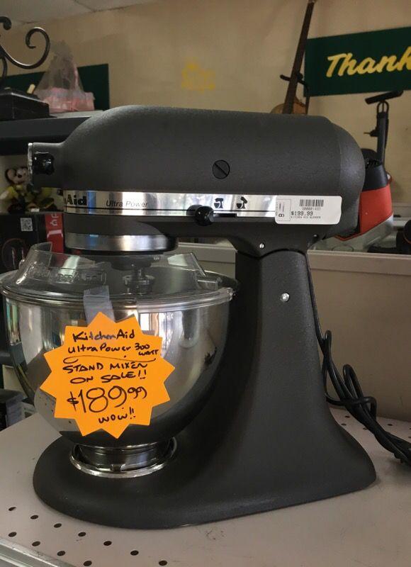 KitchenAid 300watts Grey Stand Mixer