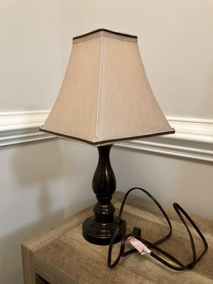 New and used lamp shades for sale in harrisonburg va offerup taupe accent lamp with shade mozeypictures Images