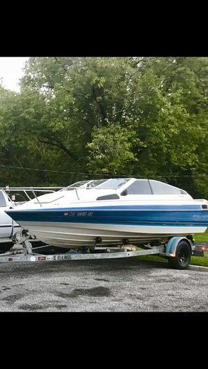 1988 18' BAYLINER Boat inboard/outboard 5.0 V8 with Trailer