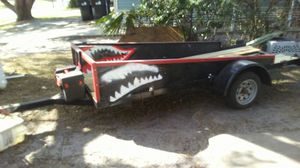 Motorcycle trailer $450