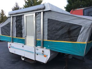 93 Coleman pop up camper