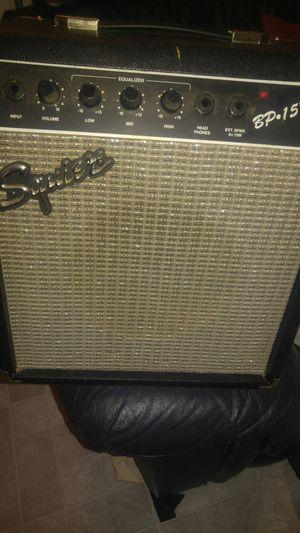 Squire Bp-15 amp