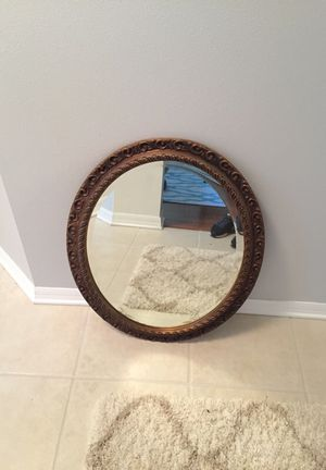 VERY NICE ANTIQUE MIRROR-PRICED TO SELL