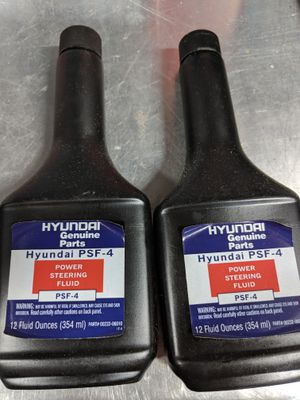 Hyundai power steering fluid.