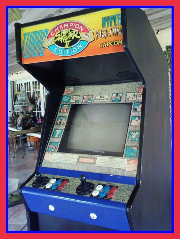 Street fighter arcade machine VINTAGE WORKS video gAME GAMING ...