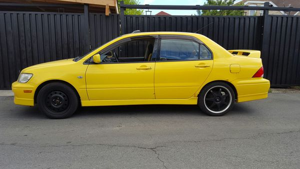 2003 mitsubishi lancer oz rally edition cars trucks in chicago il offerup. Black Bedroom Furniture Sets. Home Design Ideas