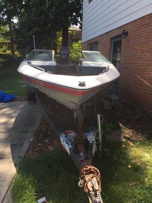 Trade for smaller boat or hardly motorcycle
