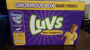 Luvs size 5. New in box.