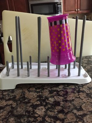 Drying rack for baby bottle.