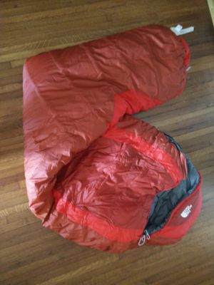 The North Face Elkhorn Winter 0 Degree Cold Weather Sleeping Bag Camp Camping Right Zipper Regular