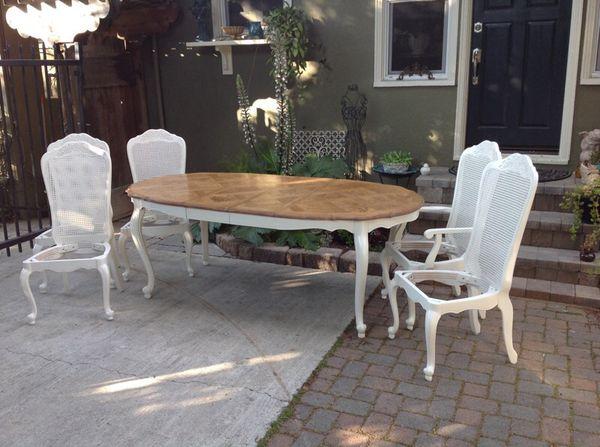 Vintage French Provincial Dining Set (Furniture) in San Jose, CA ...