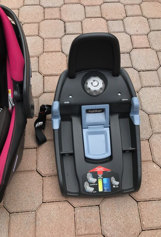 Peg Perego P. Viaggio Car Seat with 2 bases and City Mini Stroller ...