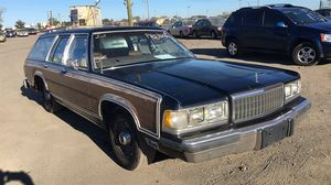 1989 MERCURY Colony Park station wagon GS