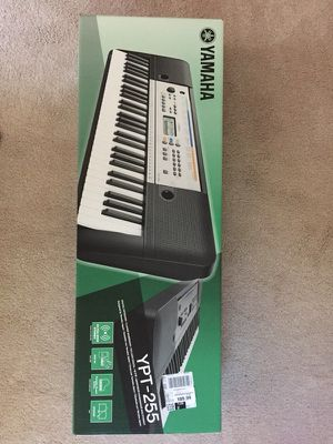 Yamaha YPT-255 electronic keyboard