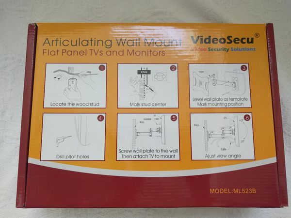 VideoSecu Articulating Wall Mount for TV