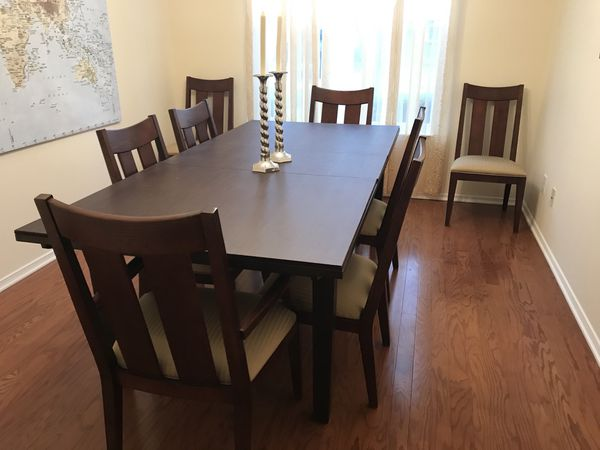 Ethan Allen Dining Room Table Pad And Chairs Furniture In Raleigh NC