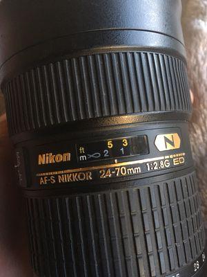 Nikon 24-70mm 2.8 ED AF + UV Filter