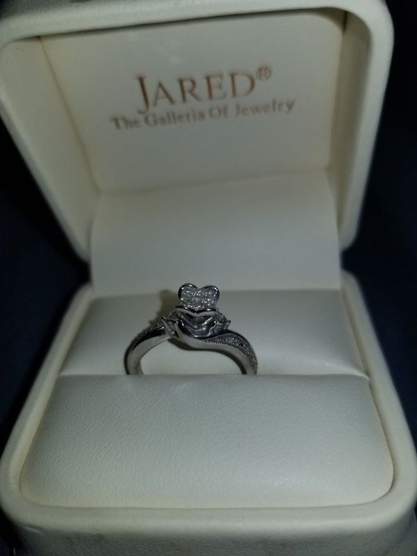 10K White Gold Promise Ring Jared size 55 Jewelry Accessories
