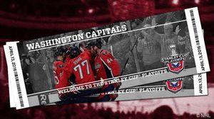 2 Capitals hockey tickets Nov 18
