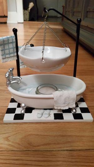 Bathroom tub tart warmer