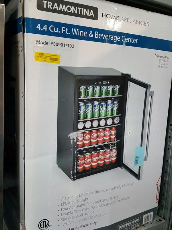 office mini refrigerator. New Tramontina 4.4 Cu Ft Compact Refrigerator Mini Fridge Dorm Office 126 Can (1)