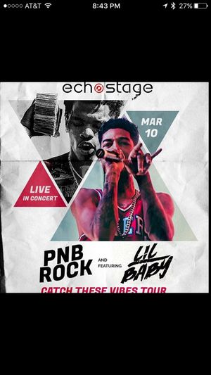 PNB Rock & Lil Baby live in Concert