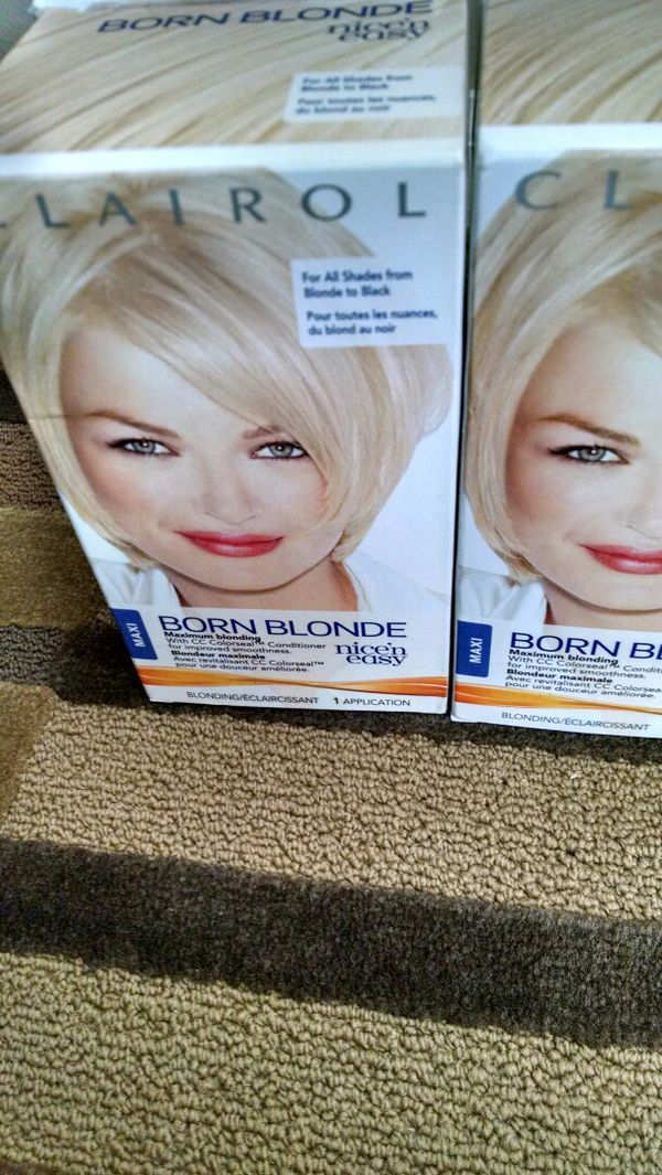 Born Blonde, Nice \'N Easy Hair Dye (Beauty & Health) in Raleigh, NC