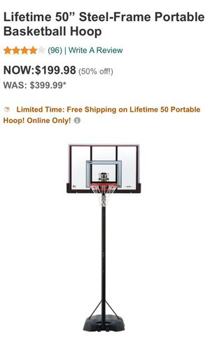 Brand New in Box Basketball Hoop