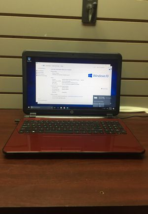 HP 15-d017cl Red Laptop