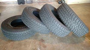 4 All Terrain Wild Trail Tires