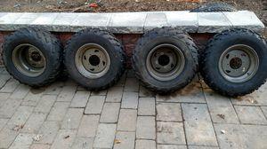 Kawasaki priarie atv tires and rims