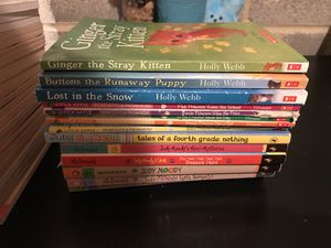 Young girl books