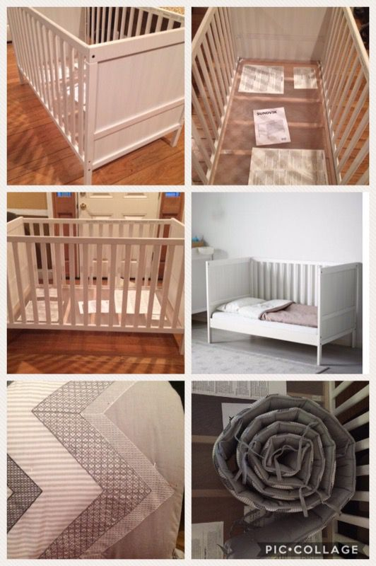 Ikea Sundvik Crib Toddler Bed Bumper