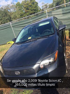 Toyota Scion tC año 2,009 con 155,000 Millas automático título limpio con Inspeccion y Imission de Virginia listo para registrarse lindo carro limpio