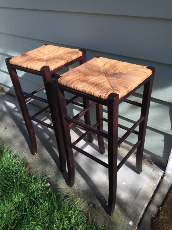 2 wooden stools furniture in seattle wa offerup for Furniture pick up seattle