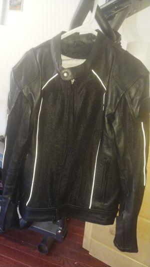 Bilt Air Leather Motorcycle Jacket