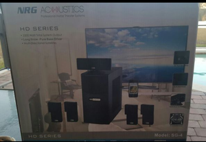 Nrg acoustics professional home theater systems HD series 2200 watt