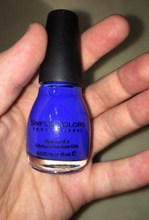 Endless Blue Nail Polish! Never used!