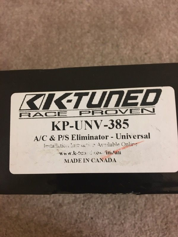 Acura Honda k20 k24 k-tune AC ps delete kit (Auto Parts) in Brandon ...