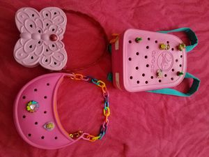 GIRLS Crocs bags bundles