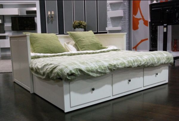 Ikea hemnes daybed and 2 mattresses furniture in union city ca offerup - Double decker daybed ...