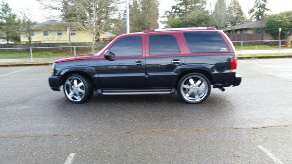 2002 escalade drop on 24s cars amp trucks in tacoma wa offerup