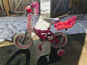 Girls Bike with babydoll seat