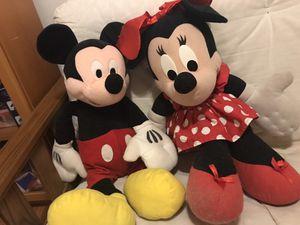 Minnie and mickie