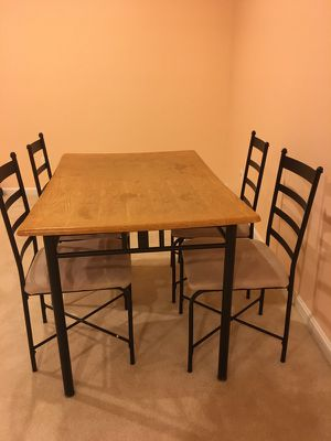 Mainstays 5 piece Dining table set