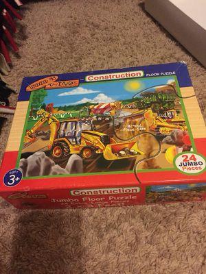 24 piece jumbo puzzle