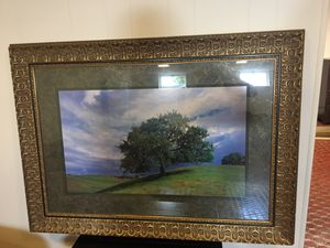 "Beautiful Gold Frame "" the tree"" Art"