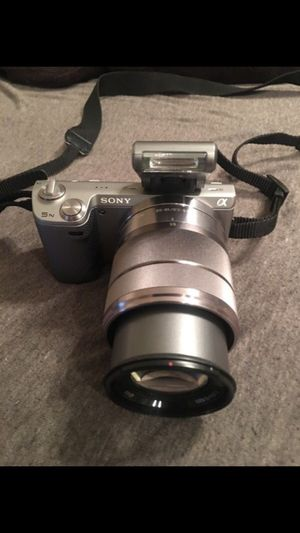 HD Sony NEX-5N touchscreen