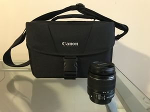 Canon bag and Canon 18-55 3.5-5.6 IS II